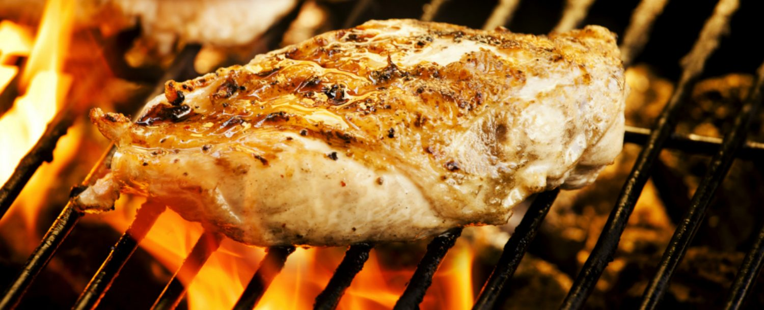 Image of Grilling Chicken at Beechwood Inn - Autumn Harvest Dinner