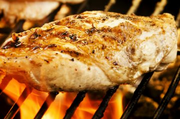 Image of Autumn Dinner at Beechwood Inn with Grilling Chicken Breast