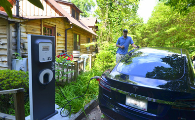 North Georgia Electric Vehicle Charging Station