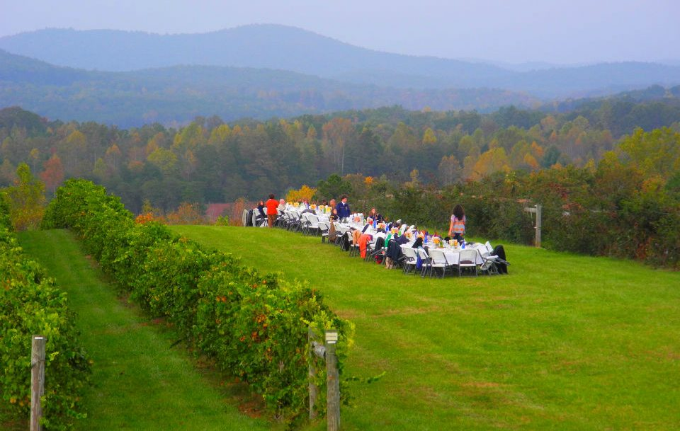 Farm to Table Dinner at Chattooga Belle Farm