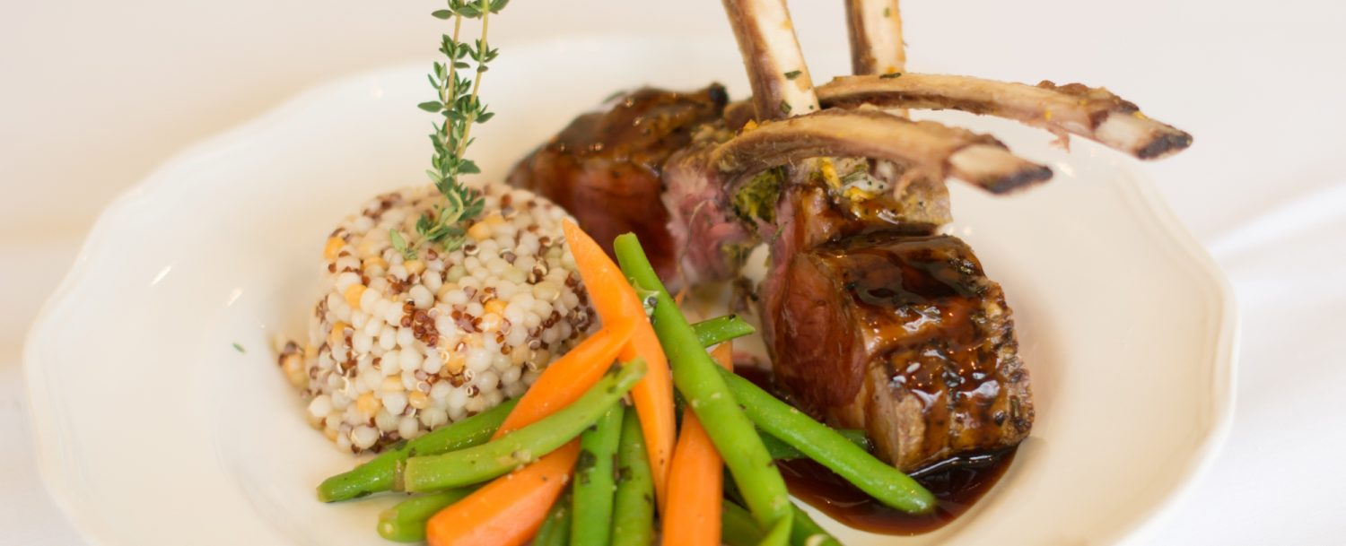 Wplffork Valley Farm Lamb at Beechwood Inn