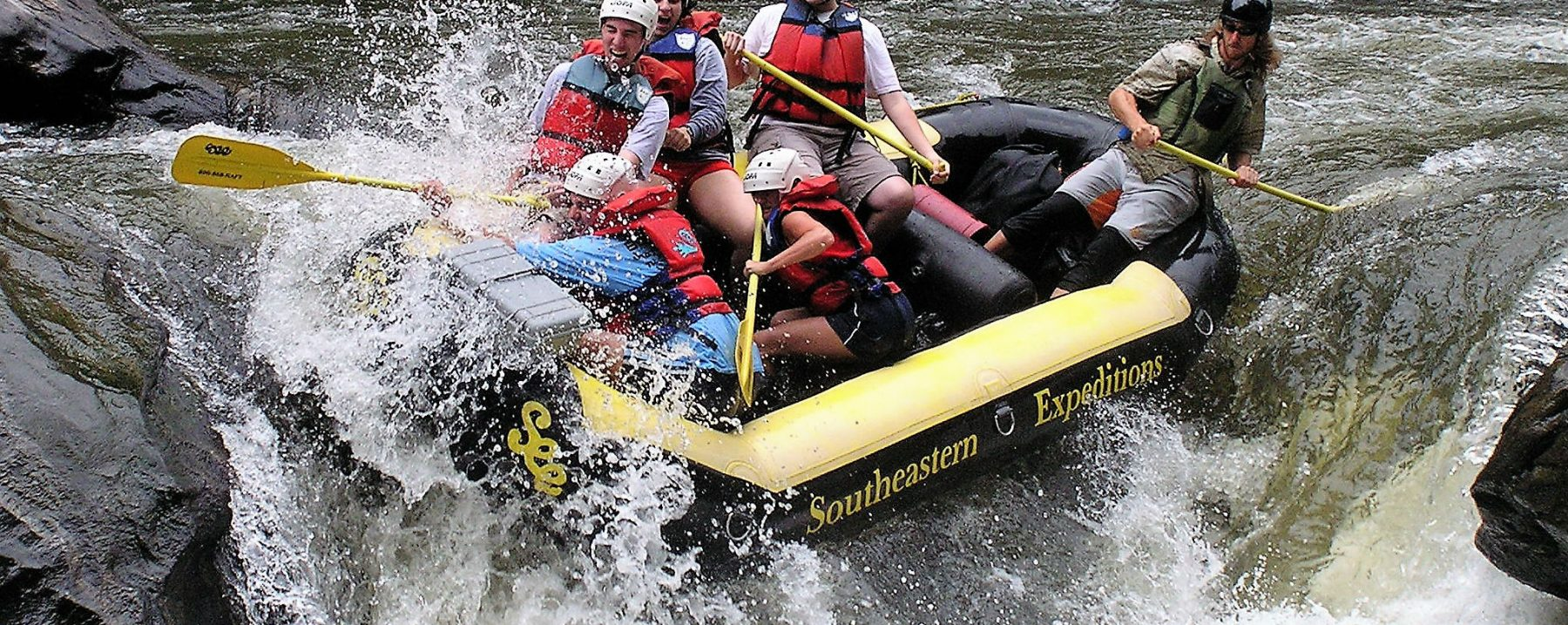 Image of Whitewater Rafting on the Nearby Chattooga River