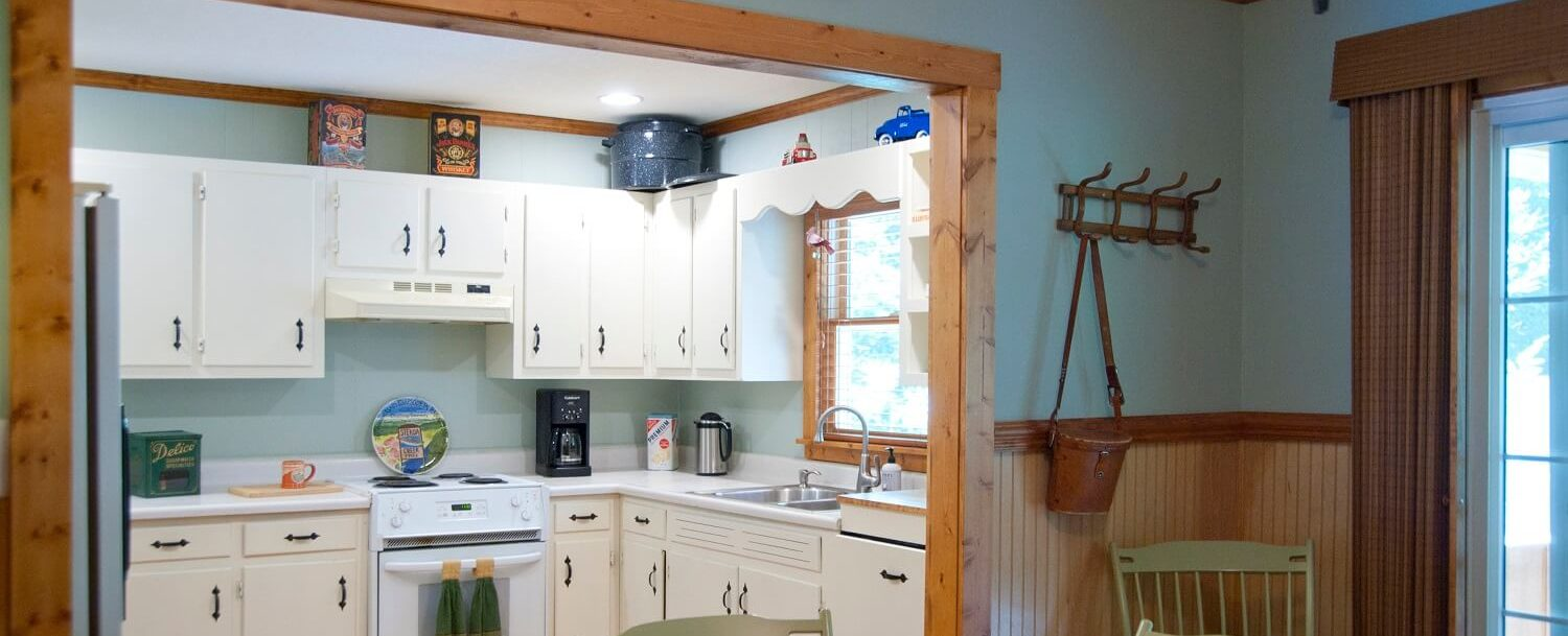 Garden Cabin kitchen
