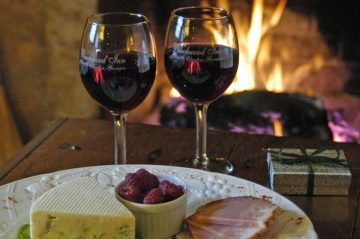 Beechwood Inn wine and cheese