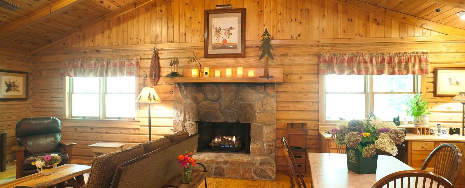 Betty's Creek fireplace