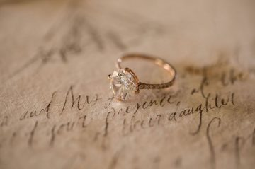Engagement Ring at Beechwood Inn