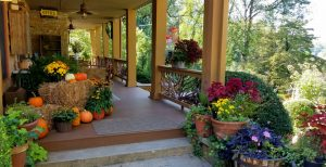 Fall Image of Beechwood Inn Front Porch