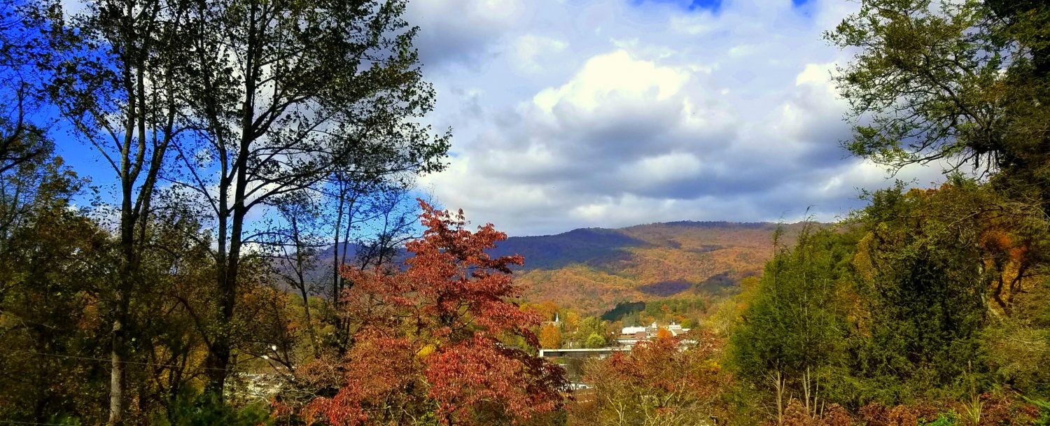Autumn view from Beechwood Inn Front Porch