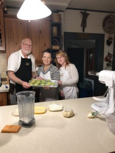 Ladies Enjoy a Cooking Class at Beechwood Inn