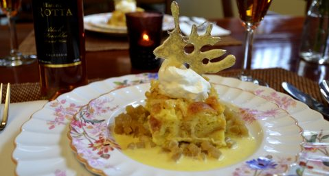Image of Croissant Bread Pudding at Beechwood Inn