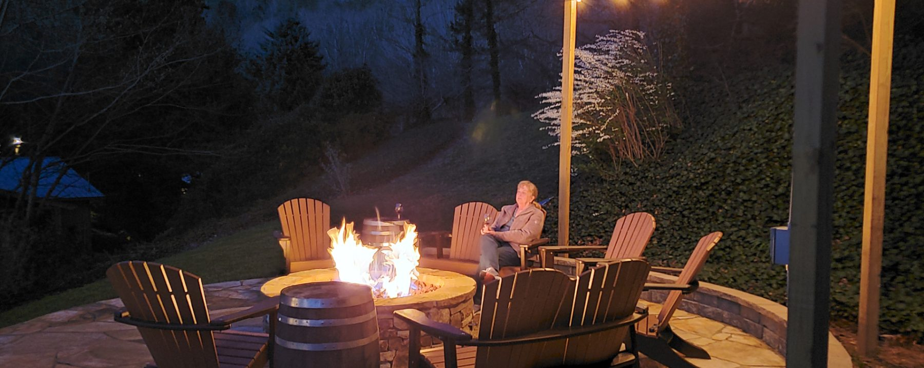 Image of Fire-Pit at Beechwood Inn for guest enjoyment