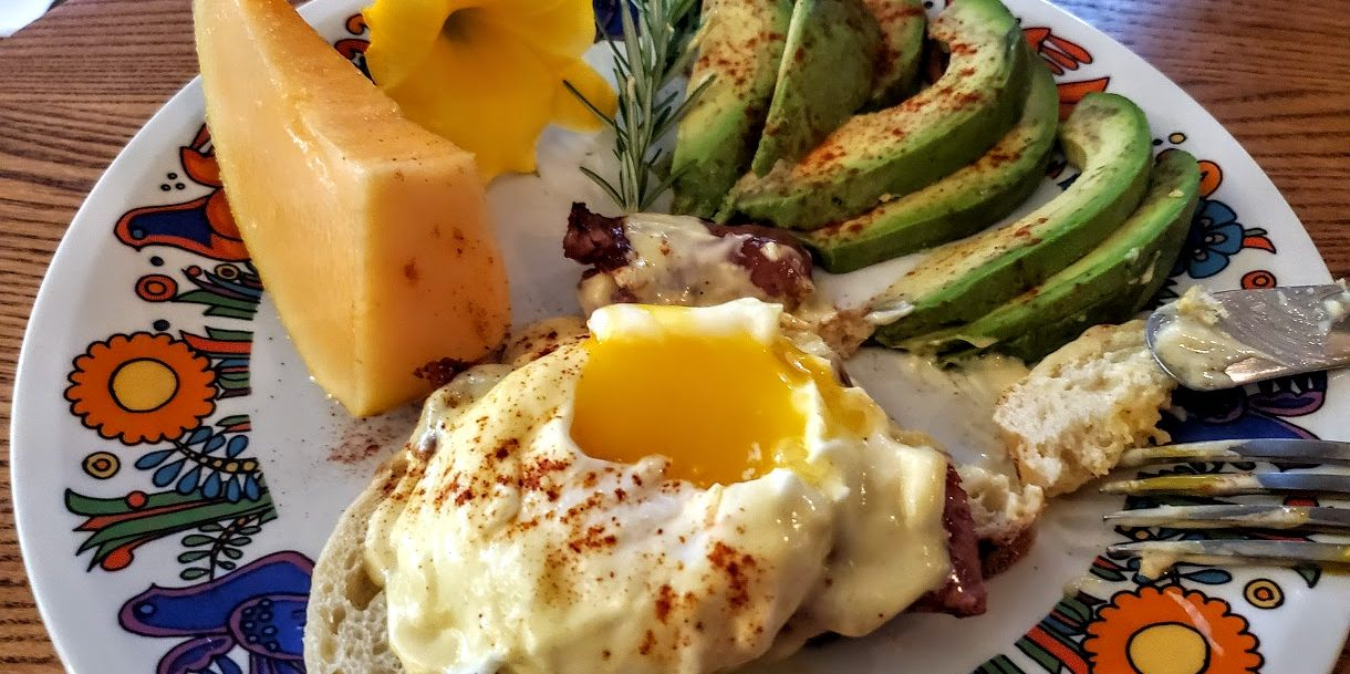 Image of Eggs Benedict and Hollandaise Sauce at Beechwood Inn