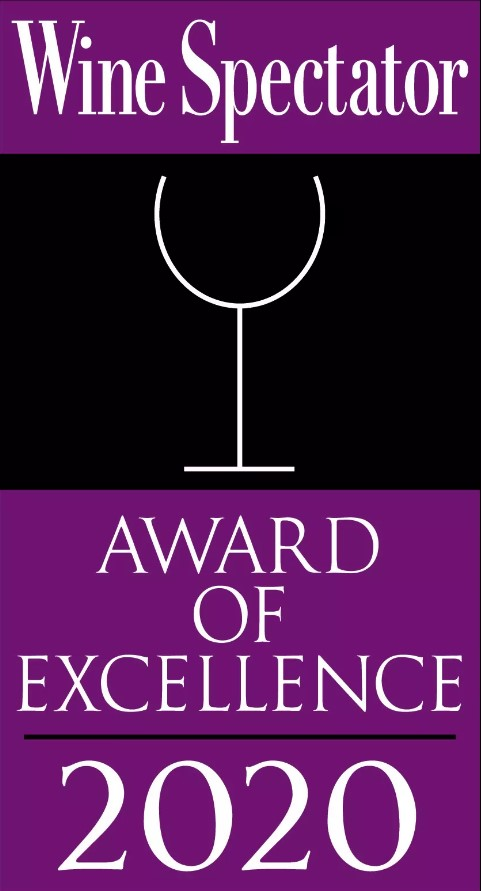 Wine Spectator Award of Excellence - 2019