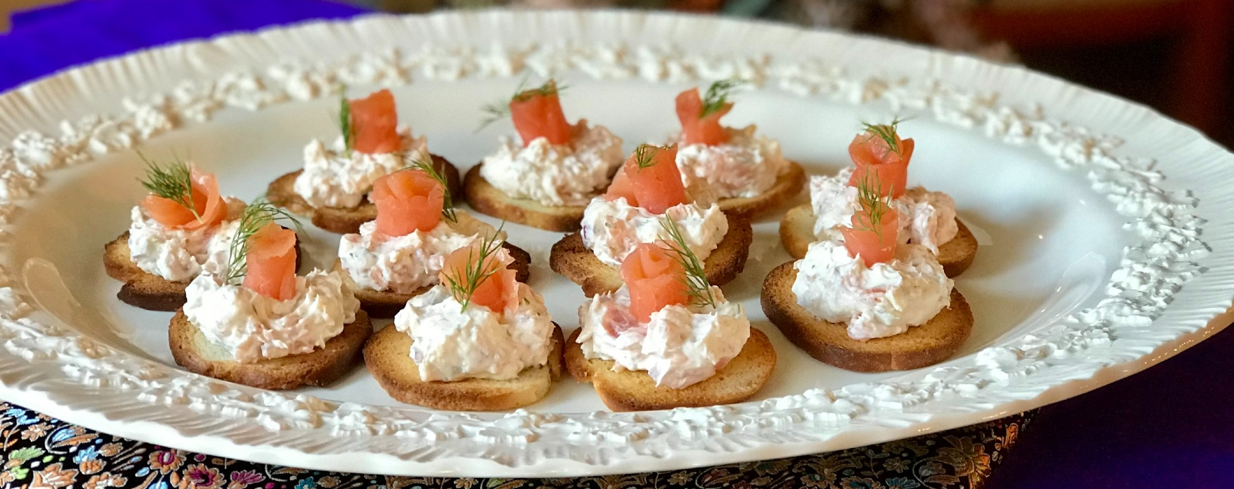 Image of Smoked Salmon Pate at Beechwood Inn for Wine-Thirty